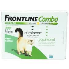 frontline combo kat 3 stuks
