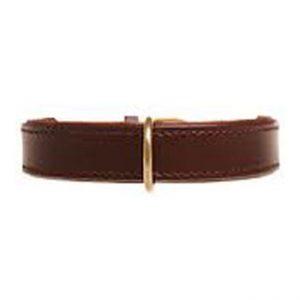 Halsband / lijn - bruin/goud