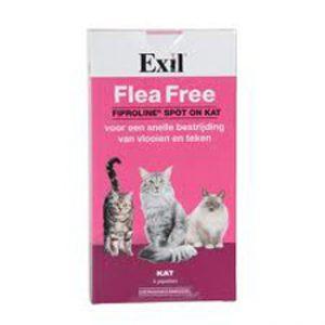 exil flea free 4 pipet