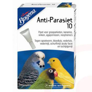 Anti-parasiet vogels