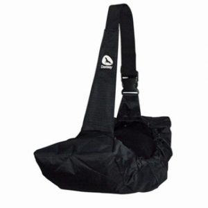 Side pet carrier bag