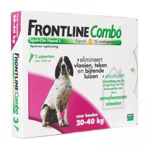 """Frontline """"Combo"""" hond"""