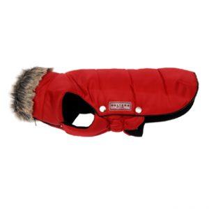 Wolters jasje parka rood