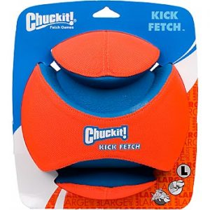 chuck it kick/fetch ball