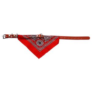 halsband met boeren zakdoek rood