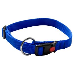klikhalsband blauw
