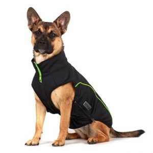 Wolters softshell jas zwart/groen en zwart grijs