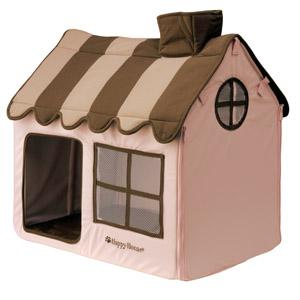 happy house roze/bruin