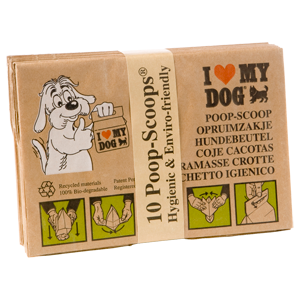 I love my dog Kakzakje 10 stuks