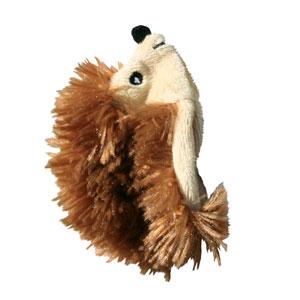 Kong Speeltje pluche egel 10 cm bruin