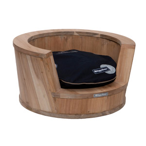 Happy-House Houten bank rond Small teak Ø60x30 cm