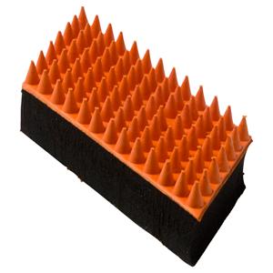 Borstel rubber 12 cm