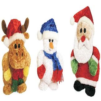 kerstfiguur pluche