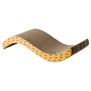 Kartonnenkrabplank wave 50x17 cm