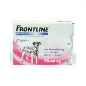 frontline L 20-40kg spot on en combo