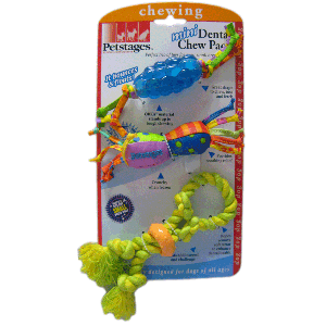 petstages dental mini pack