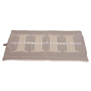 happy house bench mat taupe
