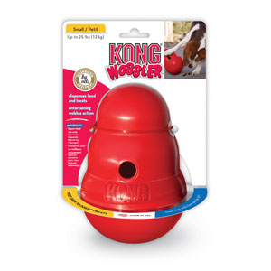 Kong Snack dispenser wobbler