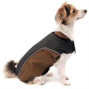 Easy rain jacket Wolters bruin/zwart
