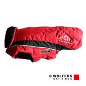 Wolters ski jas rood/zwart