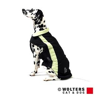 Wolters ski jas lime/zwart