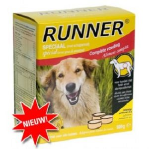 Runner speciaal kip/lam 600gr