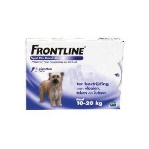 frontline hond 10-20kg spot on en combo